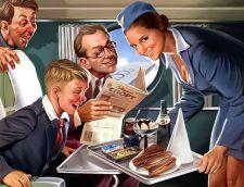 Пиво на борту самолета