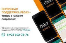 Сервисная служба PEGAS – теперь в мобильном виде!