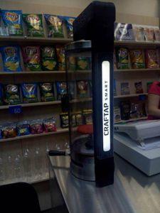 Новосибирский магазин разливного пива получил новинку Pegas CrafTap Smart